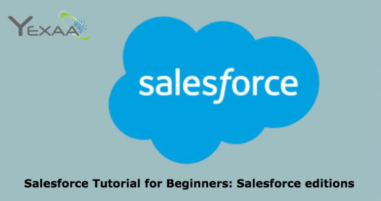 Salesforce editions
