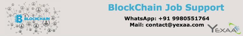 Blockchain Job Support