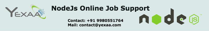 NodeJS Job Support
