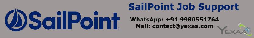 SailPoint Job Support