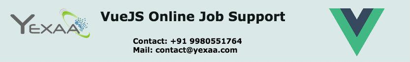 VueJs Job Support